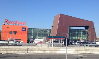 Auchan di Cesano Boscone: 2 arresti dopo furto e tentata fuga