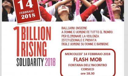 One Billion Rising a Corsico con Ventunesimo Donna