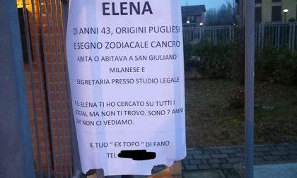 Cerca da sette anni il suo amore: Elena, dove sei?