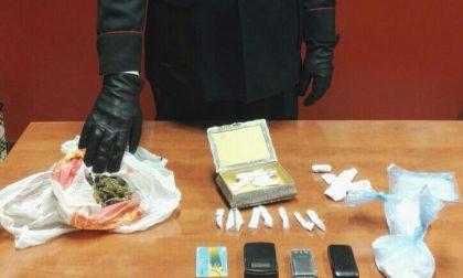Droga in casa a Milano, arrestato
