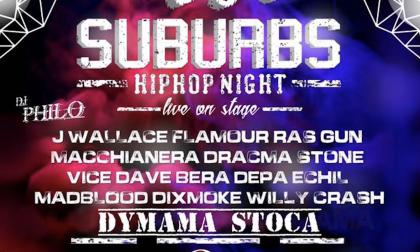 La vera cultura hip hop stasera con HH Suburbs