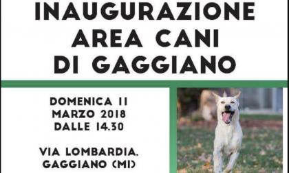 Nuova area cani in via Lombardia Gaggiano, ma occhio alle multe