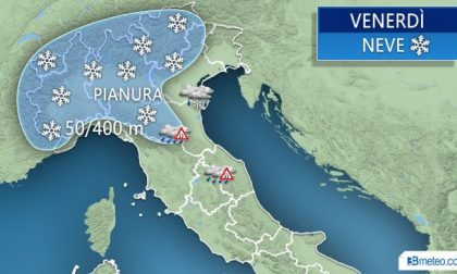Neve Milano domani si replica LE PREVISIONI
