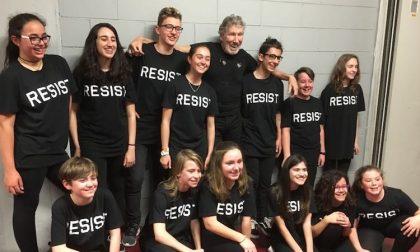 Sul palco con Roger Waters, i ragazzi del coro: Un'esperienza fantastica, Roger gentile e disponibile (FOTO)