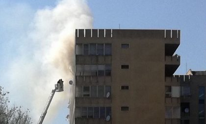 Barbecue prende fuoco: incendio a Pieve in via dei Pini (FOTO)