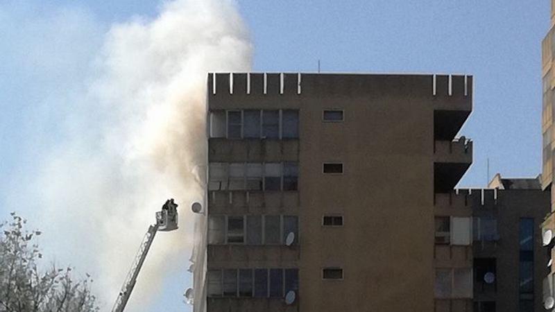 incendio a Pieve