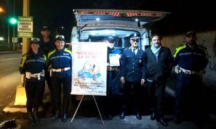 Non berti la vita, la campagna della polizia di Buccinasco FOTO