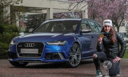 Audi Italia celebra Sofia Goggia con la RS 6 Avant Performance