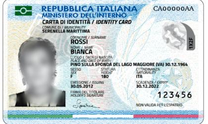 Le carte di identità scadute o in scadenza vengono sostituite dalla carta di identità elettronica