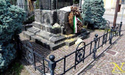 Gaggiano: vandalizzato il monumento ai caduti