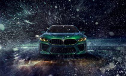 BMW Concept M8 Gran Coupé FOTO e VIDEO
