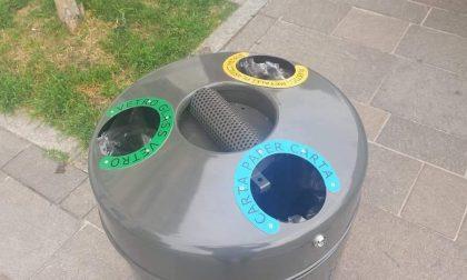 Trezzano più pulita: arrivano i cestini per la raccolta differenziata pubblica (FOTO)