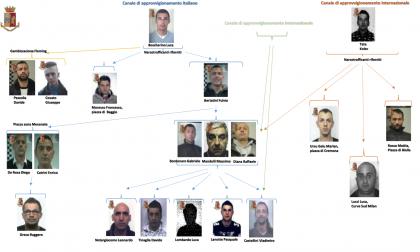 Sequestrati 600 chili droga, maxi operazione con 46 persone denunciate VIDEO e FOTO
