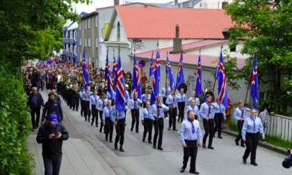 Oggi l'Islanda era in festa