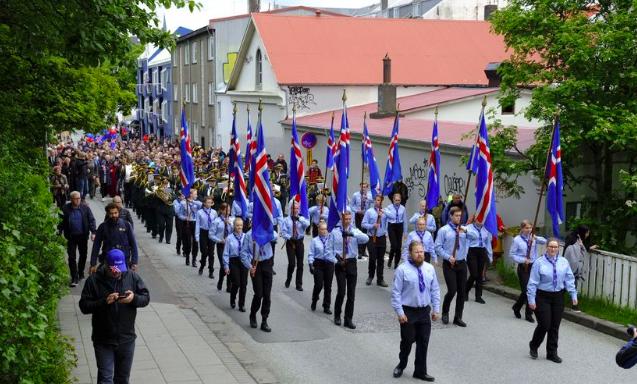 Islanda in festa
