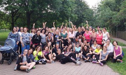 Sempre più partecipanti alle camminate all'aperto al Parco della Resistenza