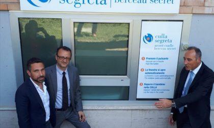 All'ospedale di Vizzolo torna in funzione la Culla della Vita