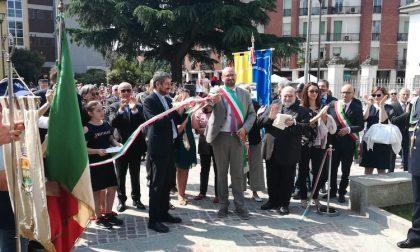 Inaugurati I Giardini della Costituzione, la nuova storia di Cesano FOTO e VIDEO