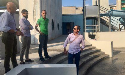 Centro Sportivo Corsico: ultimati i lavori presso la piscina del centro sportivo Giorgella.
