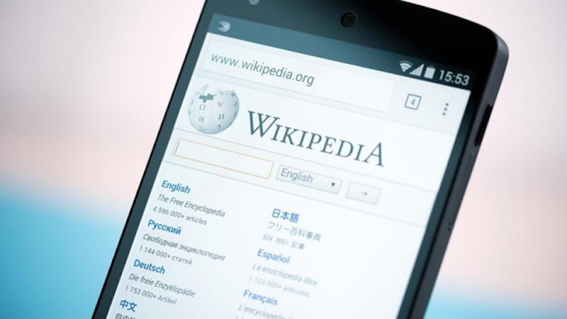 Wikipedia torna visibile