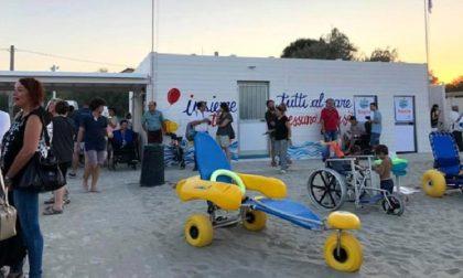 Nasce il primo stabilimento balneare per disabili in Romagna: il sogno di Dario diventa realtà.
