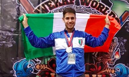 Cesare Lunato si è portato a casa un argento e un bronzo con la nazionale italiana