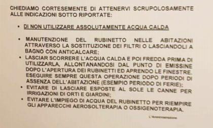 Legionella Rozzano: concluso il primo intervento di bonifica