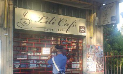 Ritrovo di pregiudicati, chiuso bar Lili di Cesano