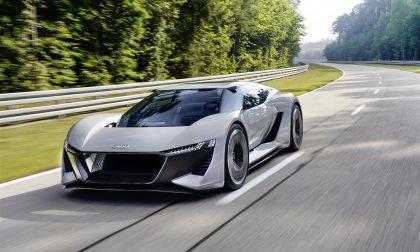 Audi PB18 e-tron, il concept della supercar del futuro