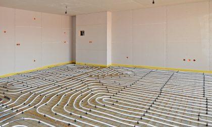 Riscaldamento a pavimento con i pannelli radianti