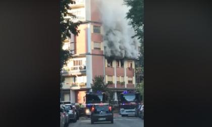 Incendio appartamento in zona Barona: muore una cagnolina