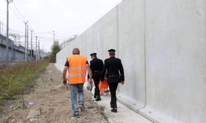 A Rogoredo un muro anti pusher alto 4 metri