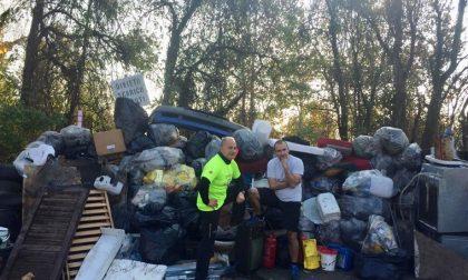Mediglia, maratona ecologista da record. 30 ore ininterrotte di raccolta rifiuti
