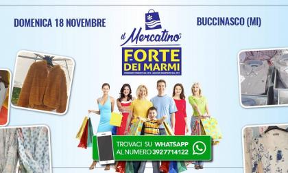 Il Mercatino da Forte dei Marmi torna a Buccinasco