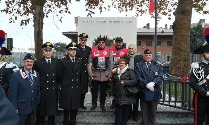 Un monumento ai carabinieri: cerimonia solenne e piena di emozioni a Trezzano FOTO