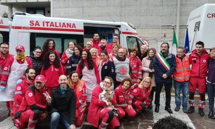 Nuova ambulanza per la Croce Rossa di Buccinasco