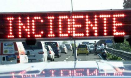 Chiusa via Emilia ss9 a causa di un incidente stradale