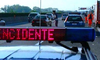 Furgone contromano incidente in Tangenziale: quattro feriti, due gravi