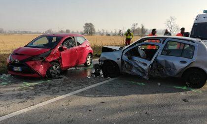 Sorpasso azzardato, quattro feriti coinvolti nell'incidente