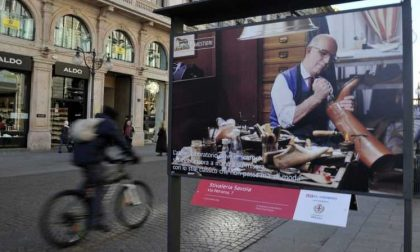 Botteghe storiche e nuovi modelli commerciali in mostra in via Dante a Milano