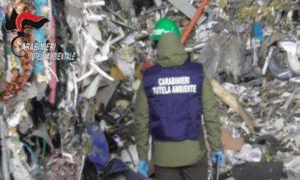 2450 tonnellate di rifiuti illeciti sequestrati in un sito