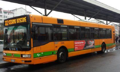 Mobilità a Cesano, autobus potenziati con l'arrivo della 322 barrata