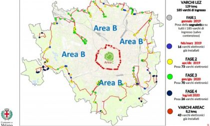 Milano, dal 25 febbraio parte l'Area B