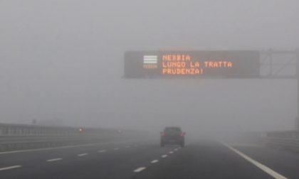 A1 chiusa per nebbia, maxi tamponamento tra Milano Sud e Lodi