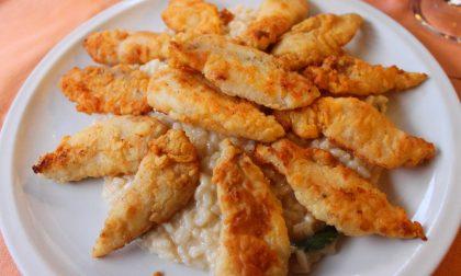 Riso col pesce persico, specialità lariana