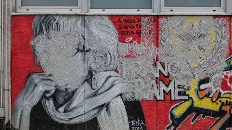 Vandalizzato il murale