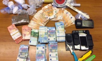 Blitz Polizia, droga box a Rozzano: trovati un chilo di eroina e 27mila euro