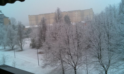 La neve a Milano è arrivata: le previsioni per le prossime ore