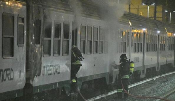 treno a fuoco