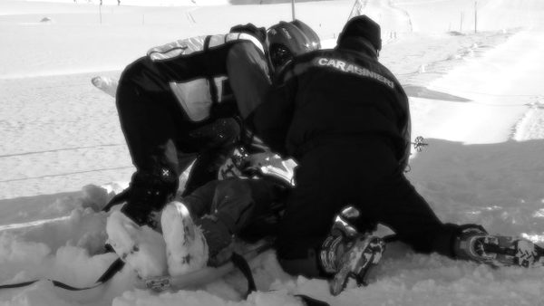 Tragedia sulla neve